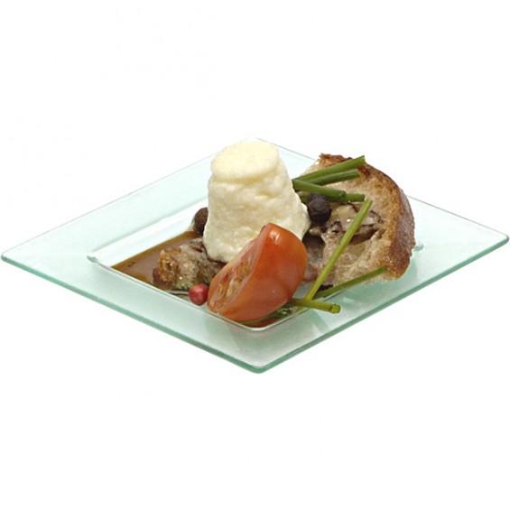 Mini Assiette Jetable 7,5 cm. - 200/cs