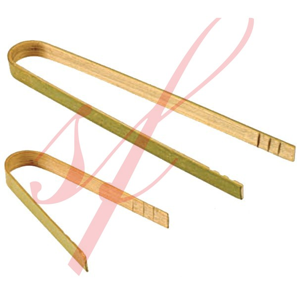Mini Bamboo Tong 3.5 in. 100/cs - $0.26/pc