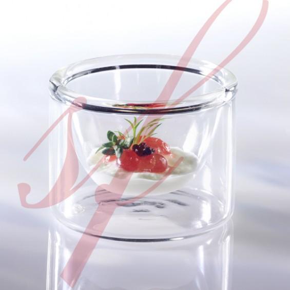 Mini Tasse en Verre Double Paroi 3 cl - 6/cs
