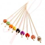 Ceramic Bamboo Skewer 4.7 in. 200/cs - $0.14/pc