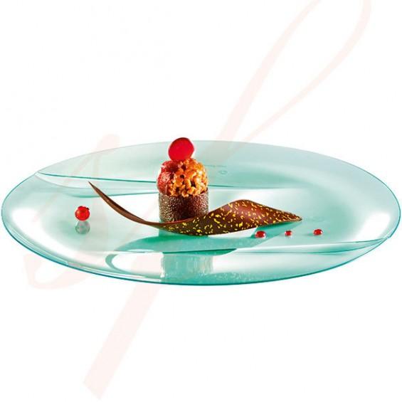 Assiette Jetable Haut de Gamme Emeraude 24 cm. - 50/cs