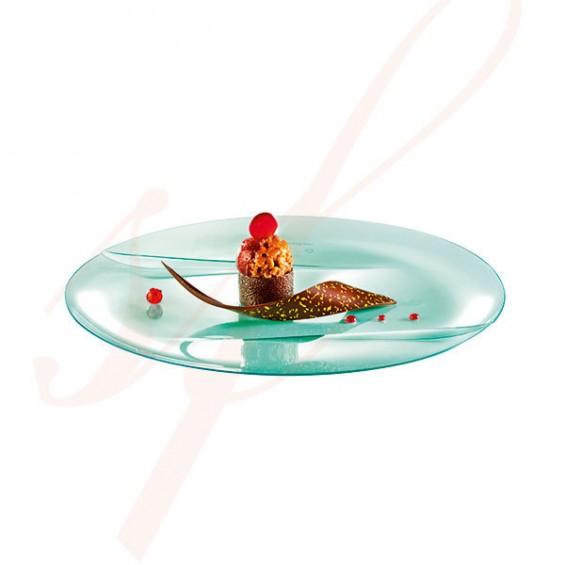 Assiette Jetable Haut de Gamme Emeraude 15 cm. - 100/cs
