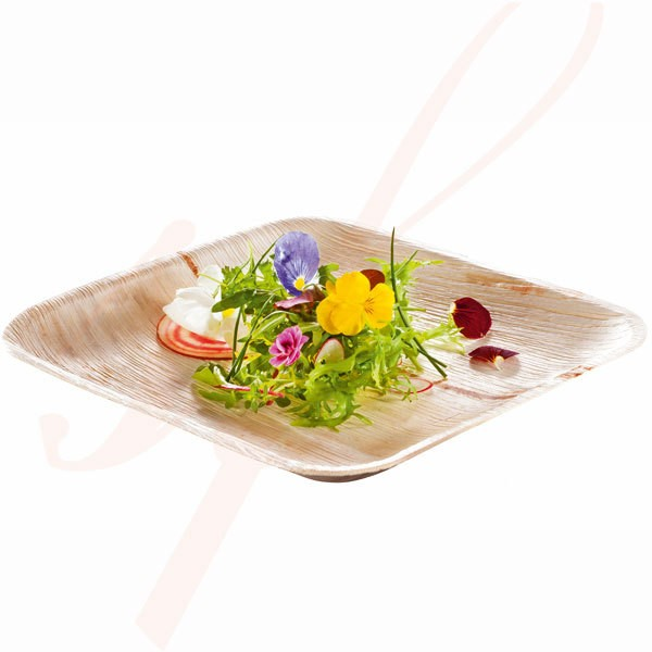 Assiette Biodégradable en Palmier 24 cm. - 200/cs