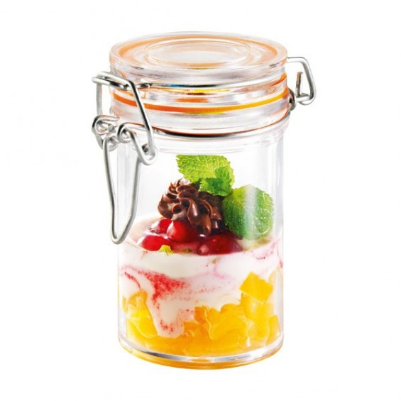Plastic Jar 2.5 oz. 24/cs - $1.45/pc