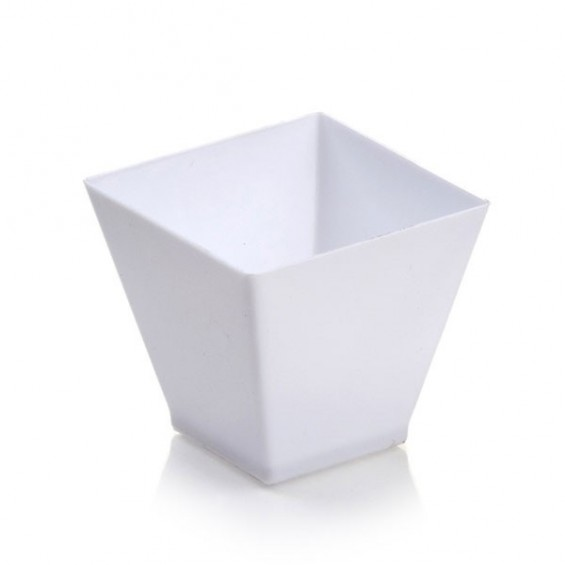 Geometric Dish 2 oz. 400/cs - $0.19/pc