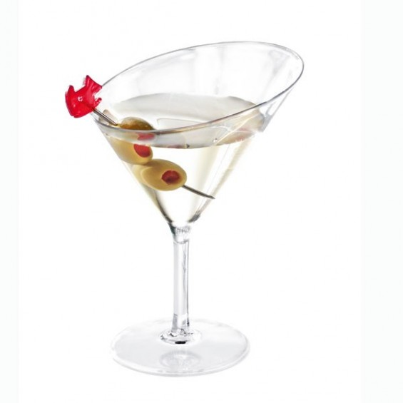 Mini Martini Glass 3 oz. 100/cs - $0.55/pc