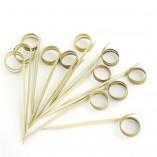 Ring Bamboo Skewer 4.7 in. 200/cs - $0.07/pc